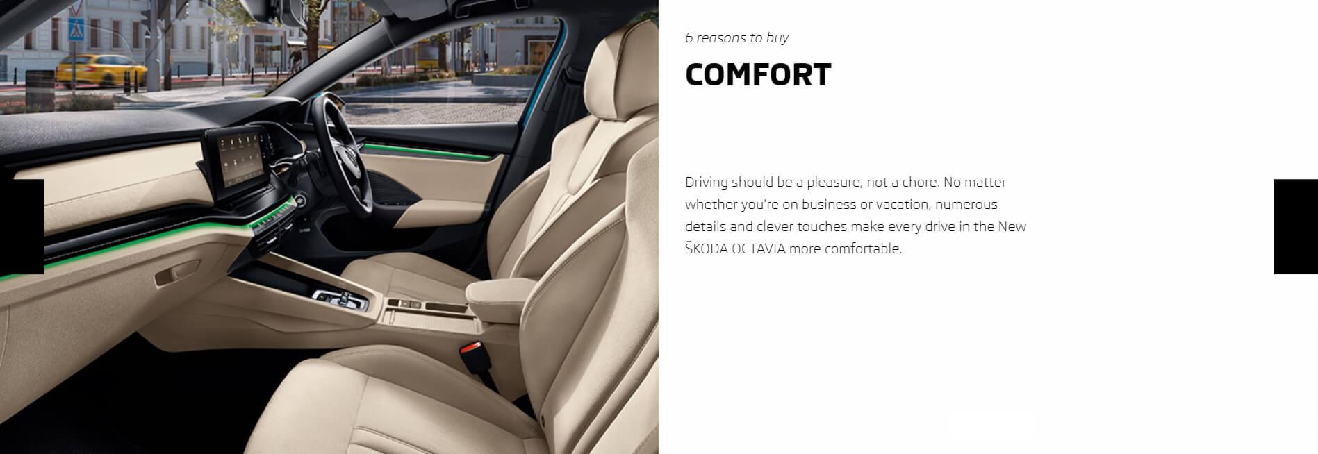 6 Reasons To Buy Octavia 2021 Comfort