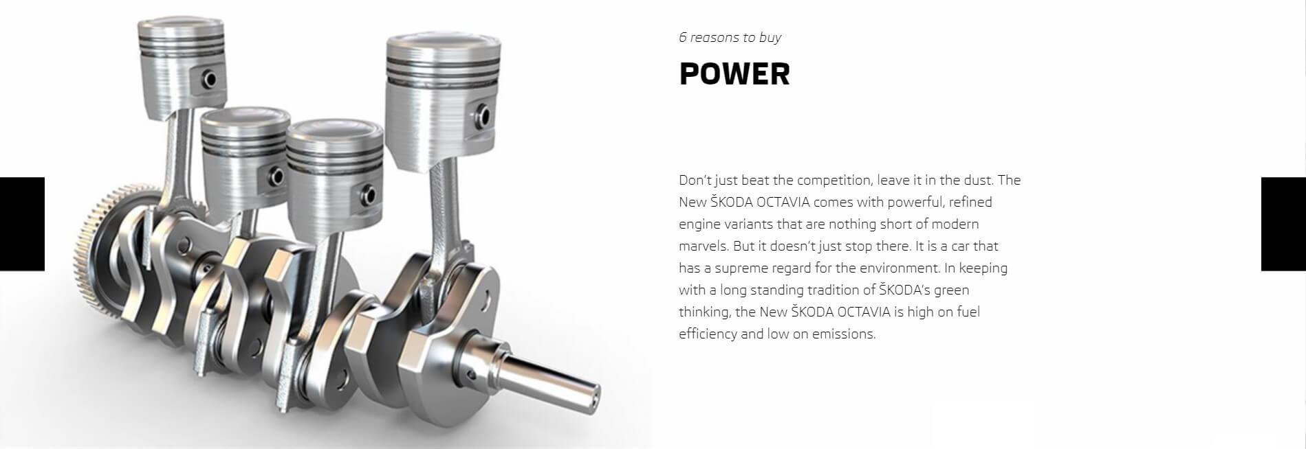6 Reasons To Buy Octavia power